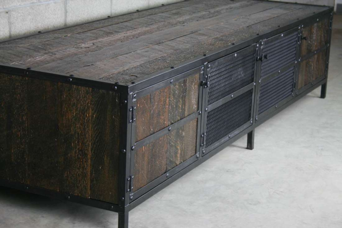 Combine 9 | Industrial Furniture In Industrial Tv Cabinets (View 4 of 20)