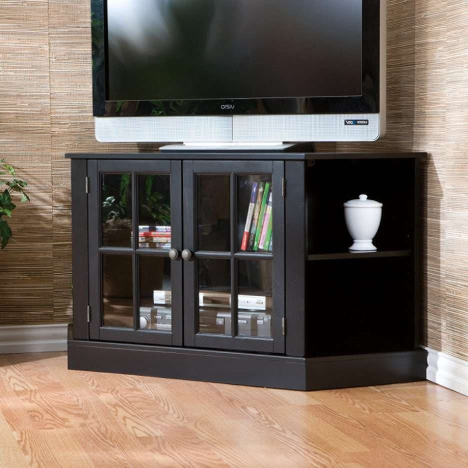Console Tables : Corner Television Stand Extra Long Tv Small Black With Extra Long Tv Stands (View 14 of 20)