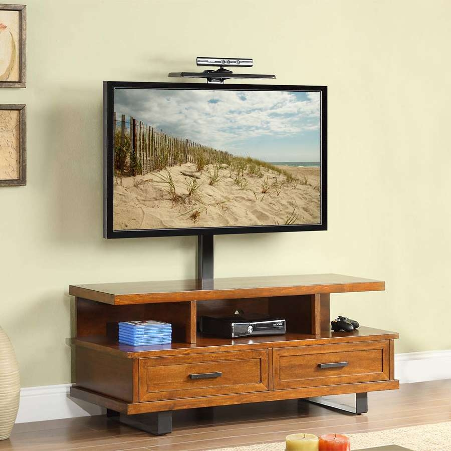 Featured Photo of Wood Tv Stands With Swivel Mount