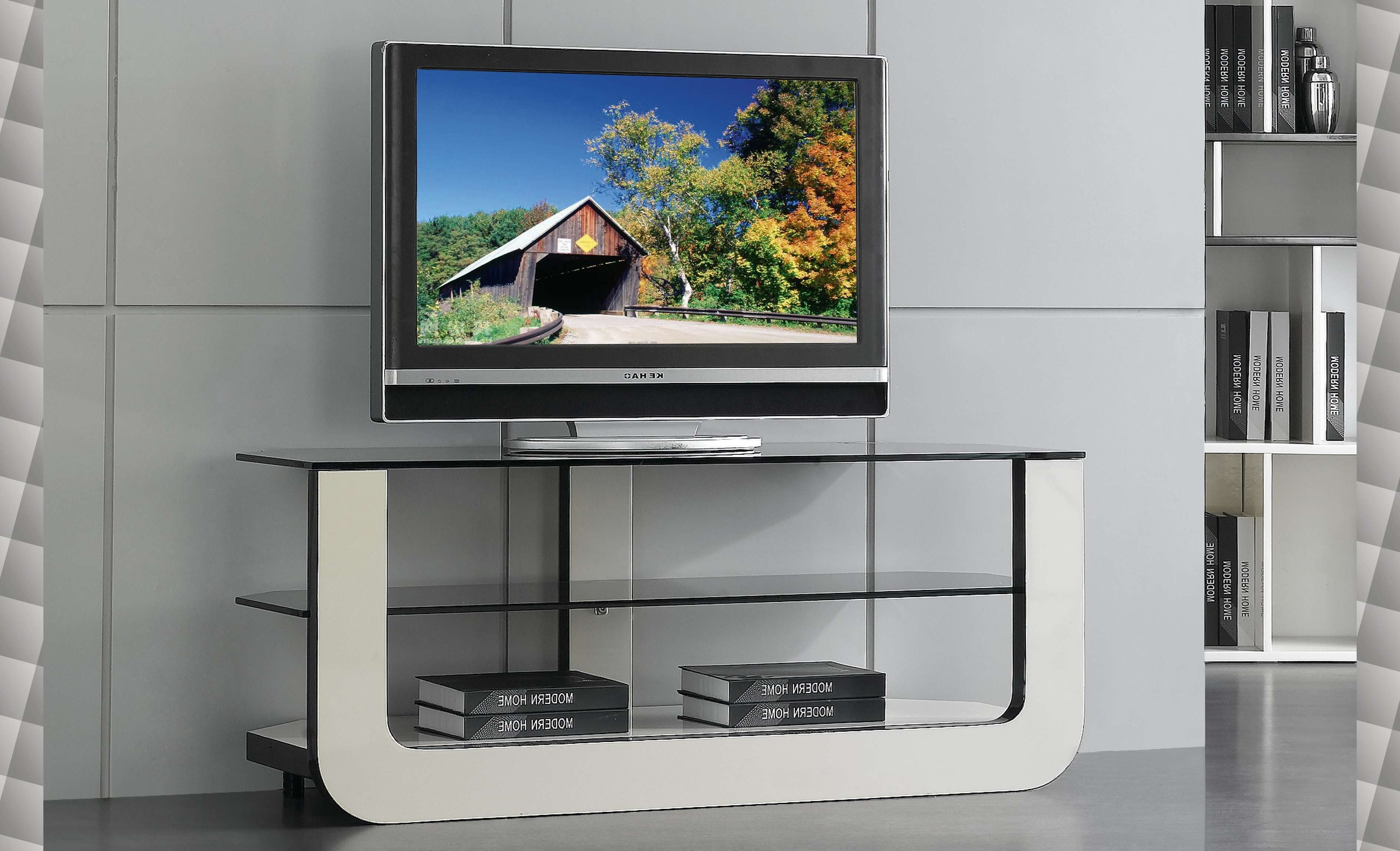 Contemporary Glass Tv Stands #14125 With Regard To Modern Glass Tv Stands (View 5 of 15)