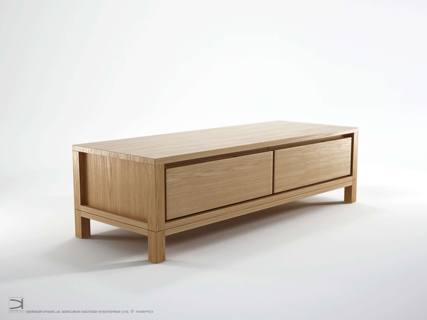 Contemporary Television Cabinet / Oak – So06 – Karpenter Pertaining To Contemporary Oak Tv Cabinets (View 8 of 20)