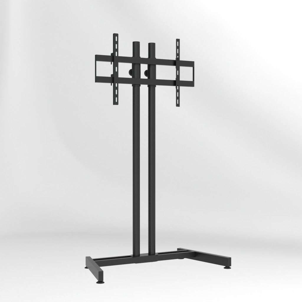 Contemporary Tv Stand / With Screen Lift / Steel – Slim 90p15v6 In Slim Tv Stands (View 7 of 20)