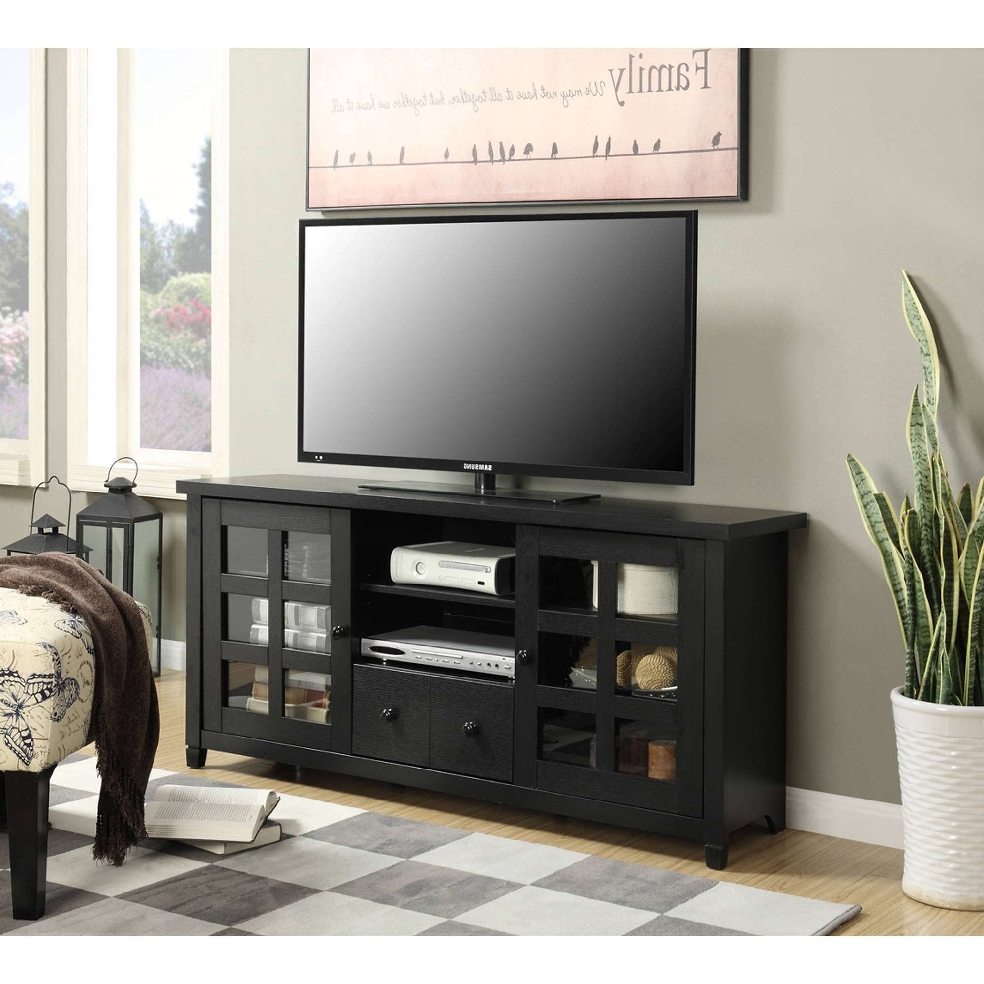 Convenience Concepts Newport Park Lane Tv Stand For Tvs Up To 60 For Lane Tv Stands (View 8 of 15)