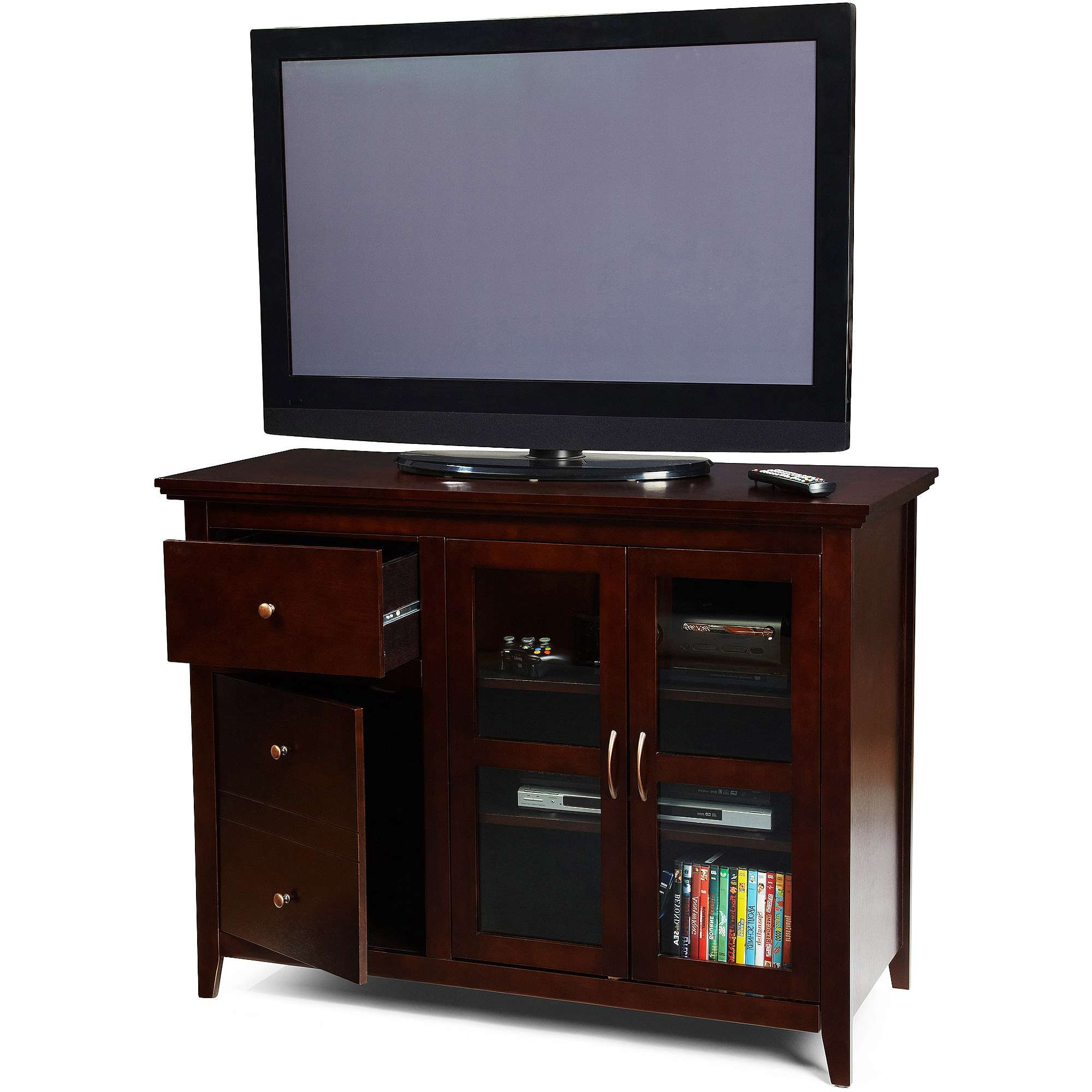 Convenience Concepts Sierra Highboy Tv Stand For Tvs Up To 50 Within Highboy Tv Stands (View 14 of 15)