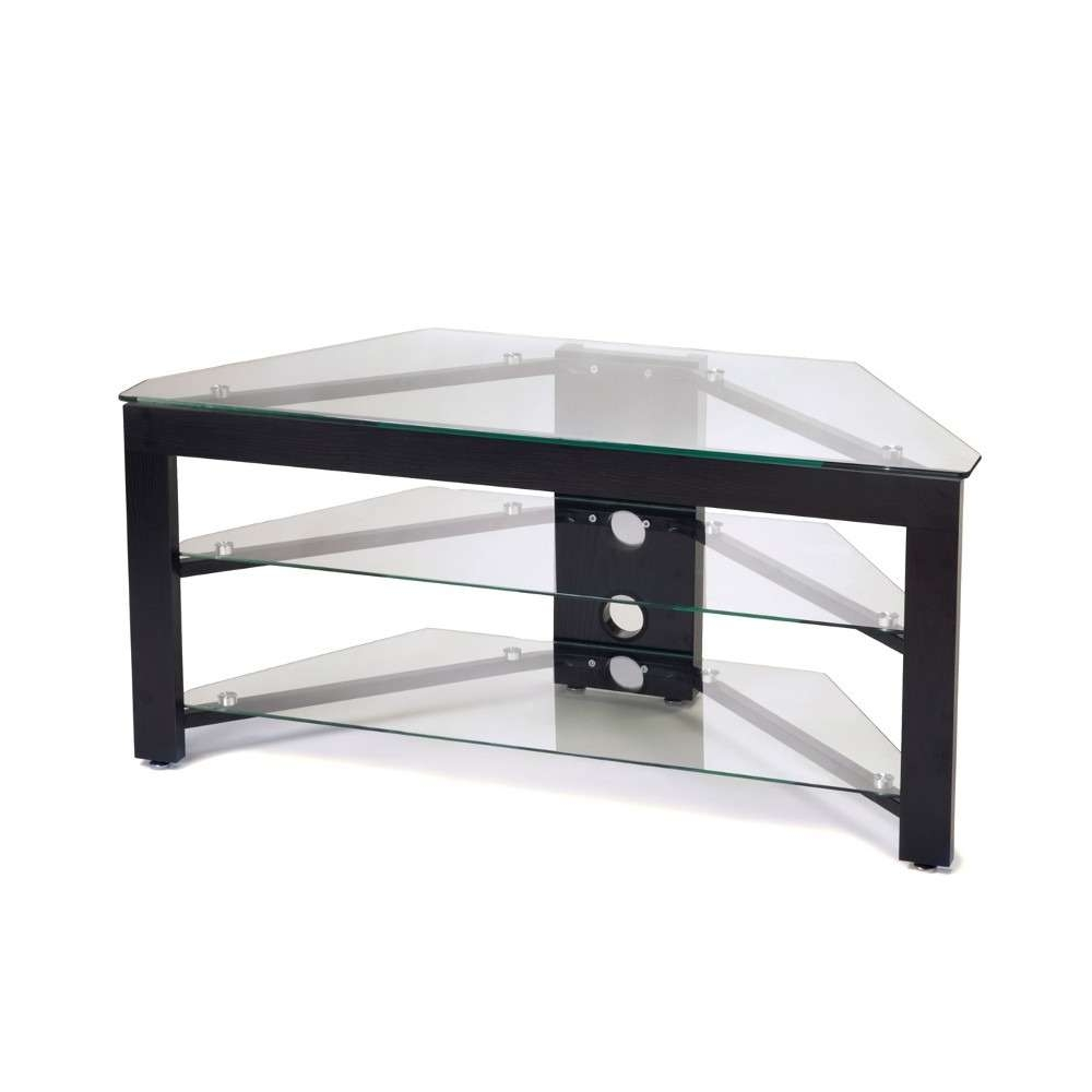 Convenience Concepts Wood & Glass Tv Stand R5 101 : Rural King Pertaining To Black Glass Tv Stands (View 9 of 15)