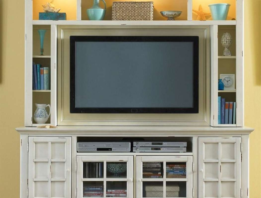 Corner Oak Tv Cabinets For Flat Screens With Doors With Regard To Oak Tv Cabinets For Flat Screens (View 9 of 20)