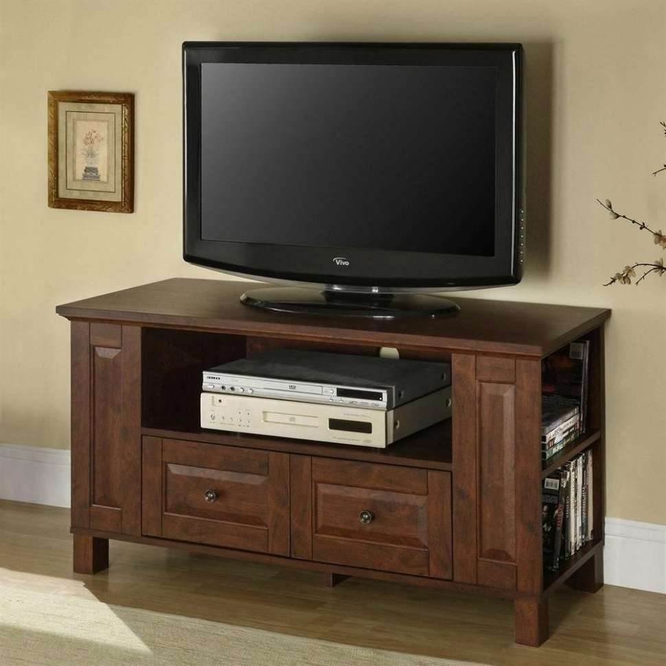 Corner Tv Unit Led Tv Stand Corner Tv Table Dark Wood Tv Stand Low Pertaining To Corner Tv Stands For 50 Inch Tv (View 7 of 20)