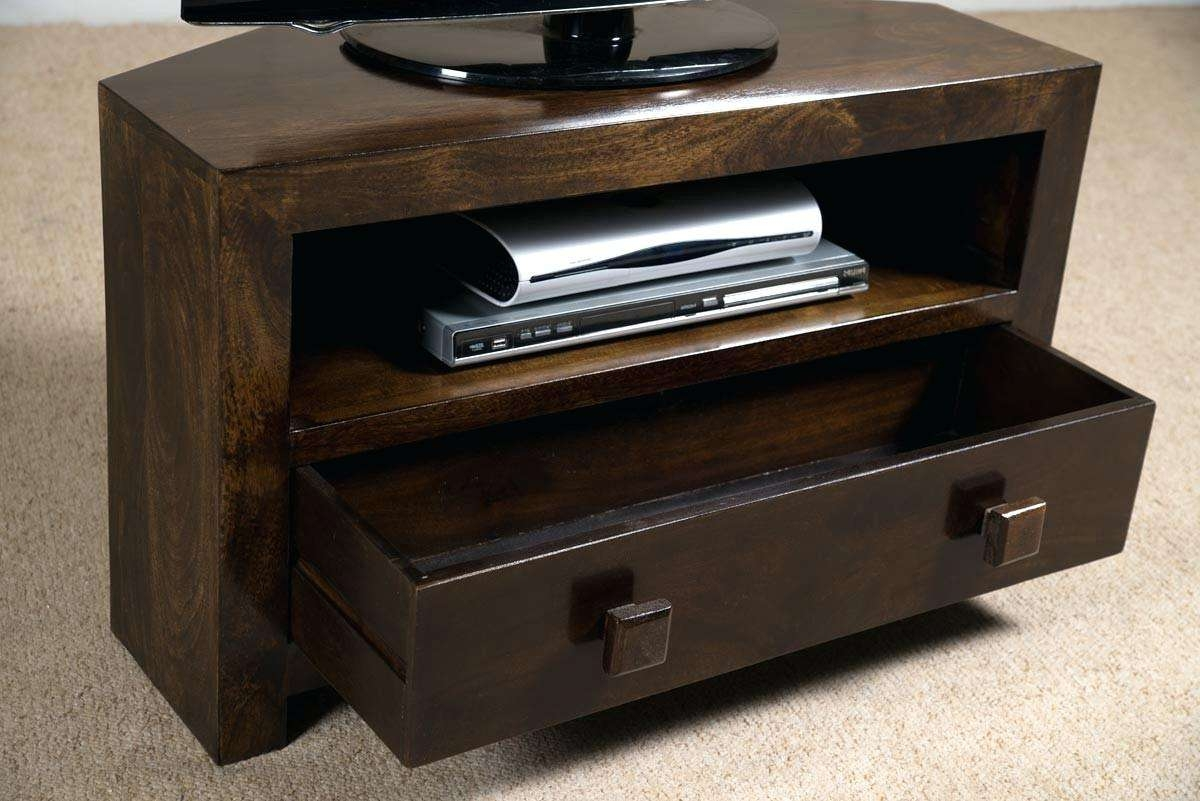Corner Tv Unit Led Tv Stand Corner Tv Table Dark Wood Tv Stand Low Regarding Wooden Tv Stands Corner Units (View 10 of 15)