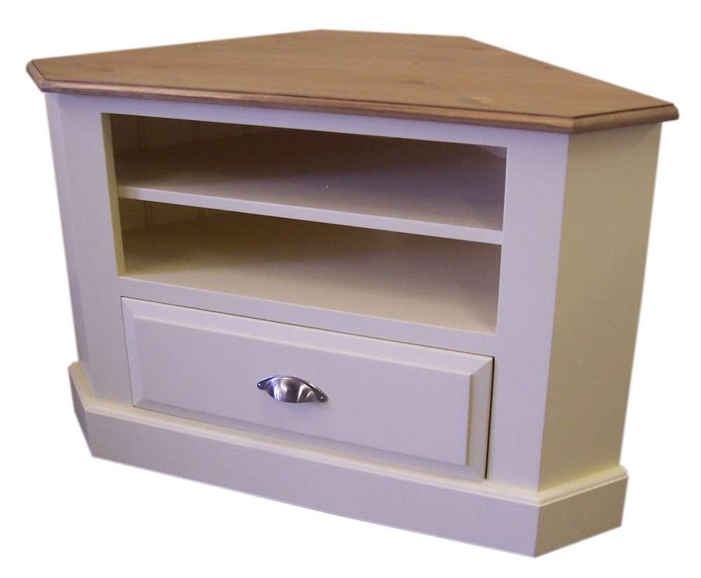 Corner Tv Unit With Drawer For Painted Corner Tv Cabinets (View 5 of 20)