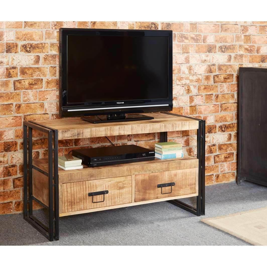 Cosmo Industrial Tv Stand With Regard To Industrial Tv Stands (View 2 of 15)