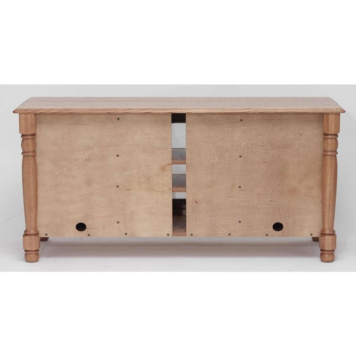 """Country Trend Solid Oak Tv Stand – 51"""" – The Oak Furniture Shop Inside Country Tv Stands (View 5 of 15)"""