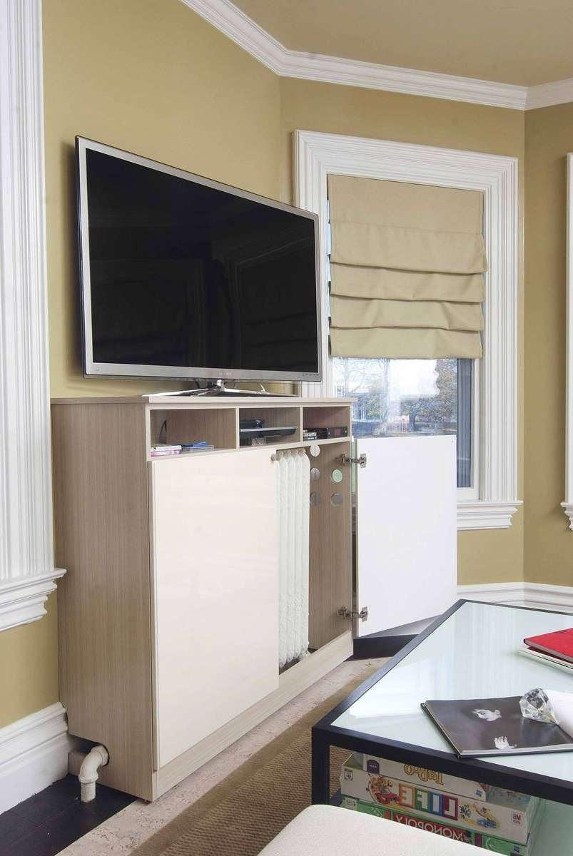 Custom Made Radiator Cover / Media Cabinetcloset Solutions With Regard To Radiator Cover Tv Stands (View 4 of 15)