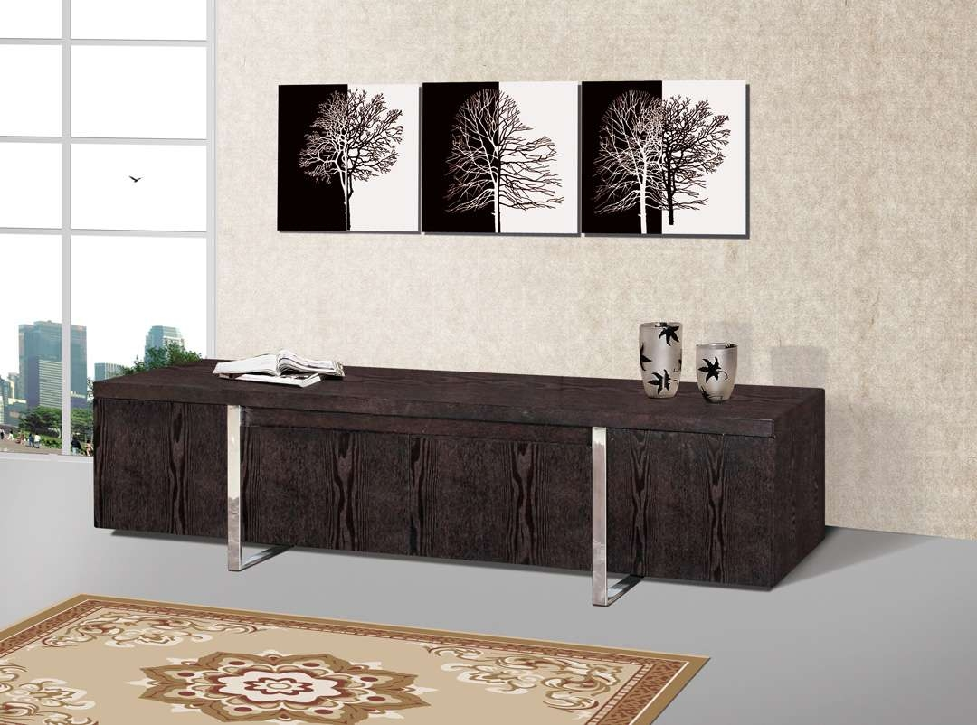 Cute Wood Wenge Television Tv Stand Console Center N Wood Wenge Inside Wenge Tv Cabinets (View 13 of 20)