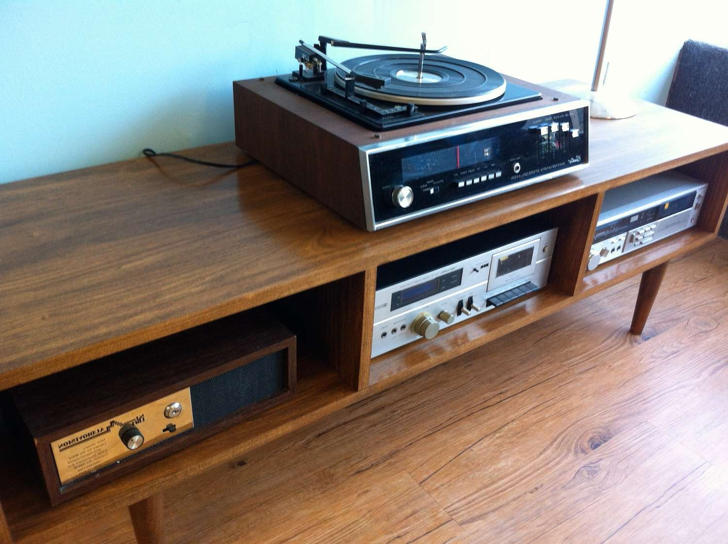 Danish Modern Style Tv / Component Stand | Tamankoma For Scandinavian Tv Stands (View 12 of 15)