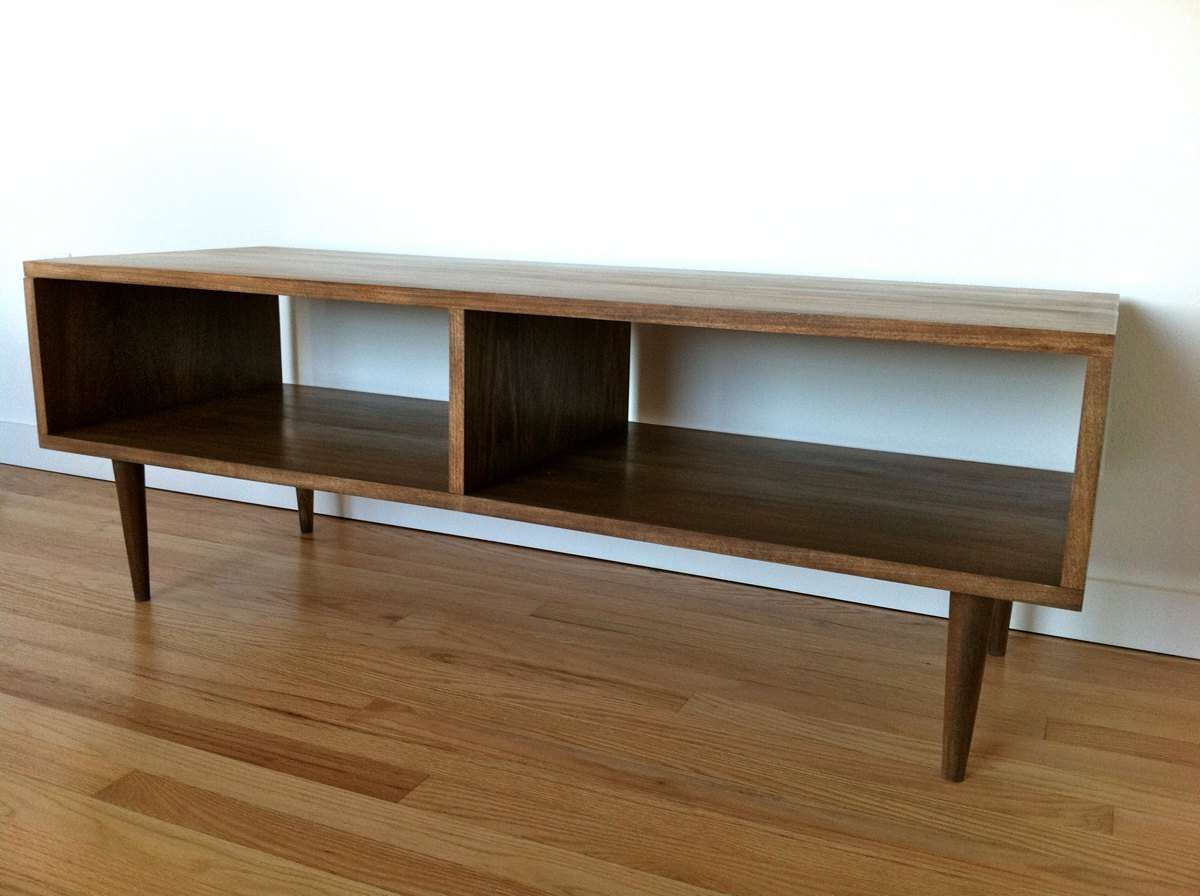 Danish Modern Style Tv Stand / Coffee Table | Tamankoma Throughout Scandinavian Tv Stands (View 2 of 15)