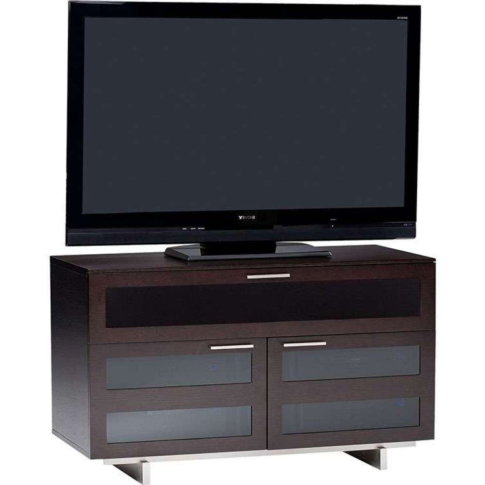 Dark Modern Wood Rustic Solid Storage Quality Real Wood Regarding Expresso Tv Stands (View 12 of 15)
