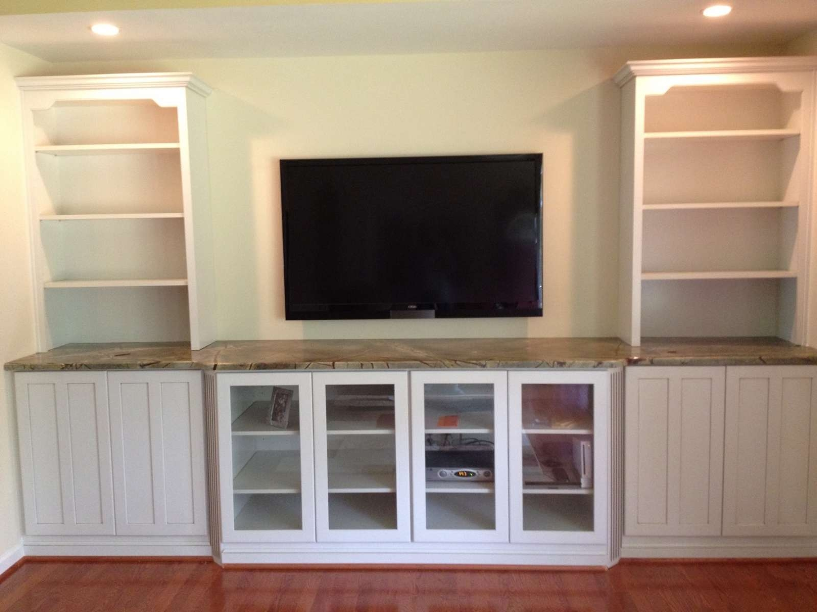 Debonair Floating Shelves Tv Mount Floating Tv Console Wall Mount Throughout Under Tv Cabinets (View 4 of 20)