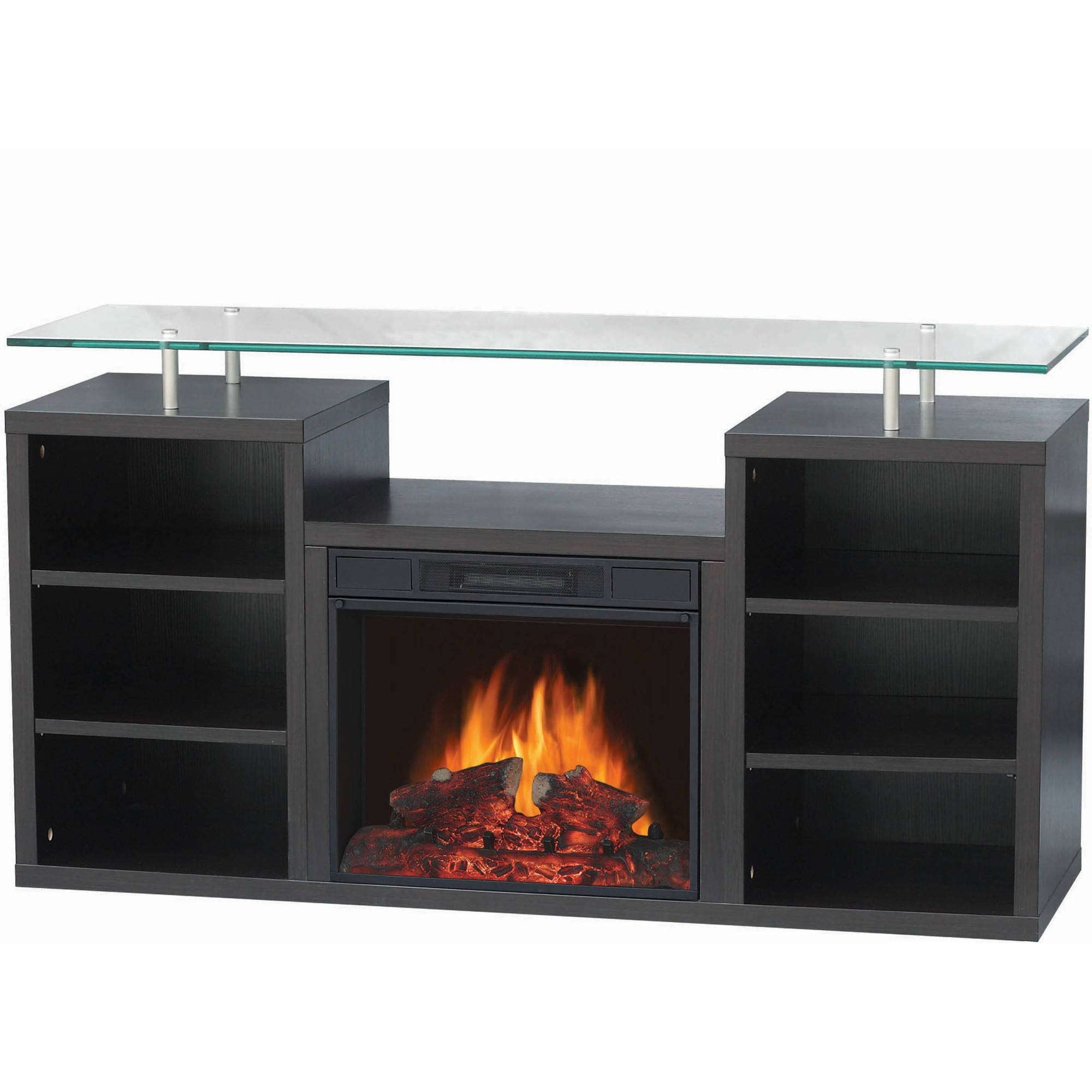 """Décor Flame Denali 50"""" Media Fireplace, For Tvs Up To 55 Inside 50 Inch Fireplace Tv Stands (View 11 of 15)"""