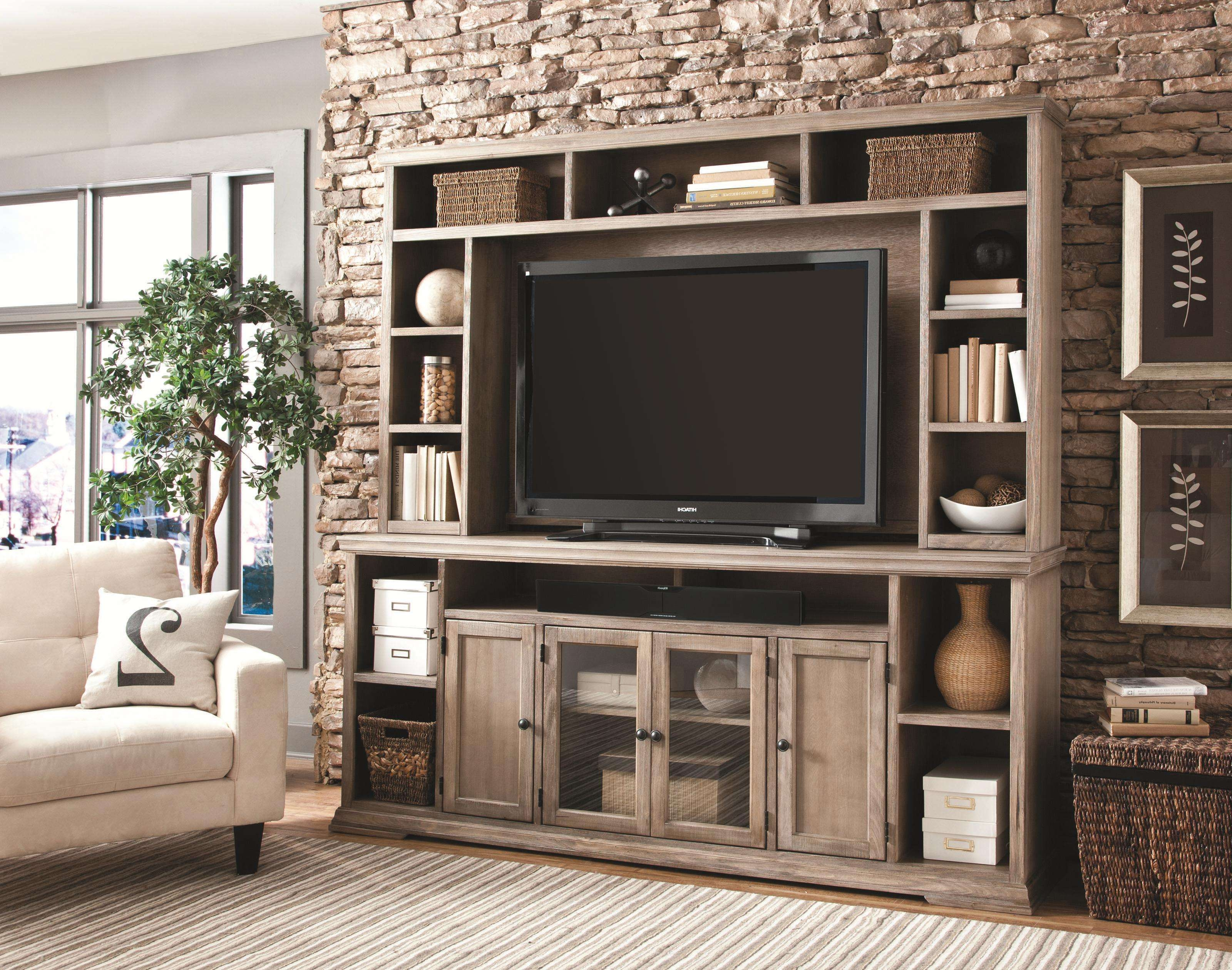 Decoration Big Entertainment Center With Bookcases Ashley Regarding Tv Stands With Bookcases (View 2 of 15)