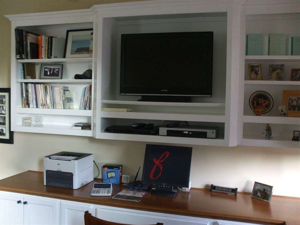 Desk Tv Stand Combination And Combo Bedroom Combos Unit 98 With Regard To Stands Computer