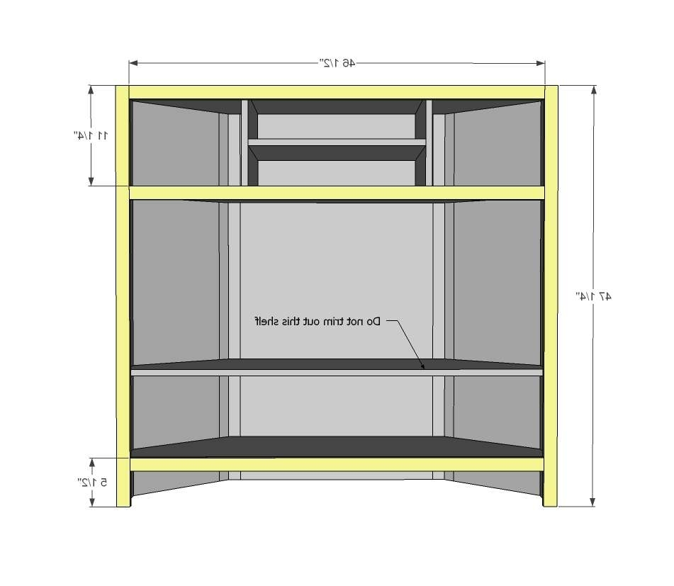 Diy Built In Corner Tv Cabinet – Imanisr With Regard To Tall Tv Cabinets Corner Unit (View 18 of 20)