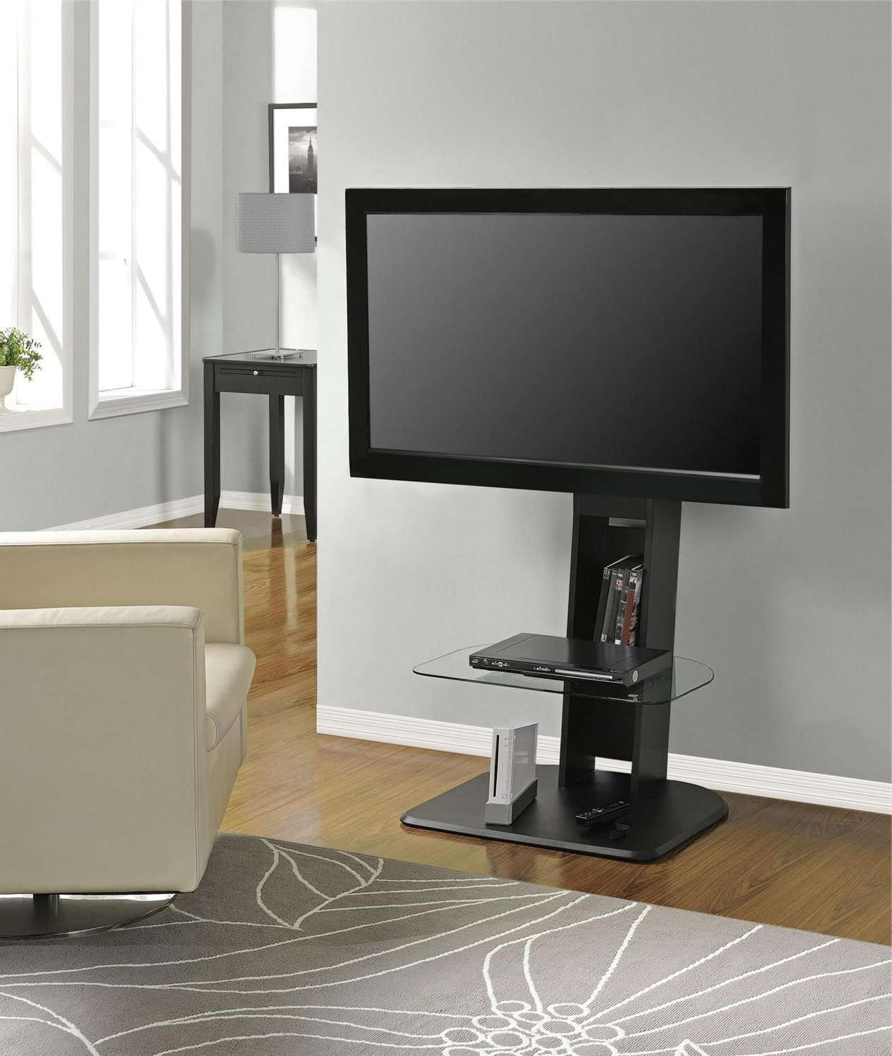 Dorel Home Galaxy Tv Stand With Mount | Walmart Canada Intended For Tv Stands With Mount (View 15 of 15)