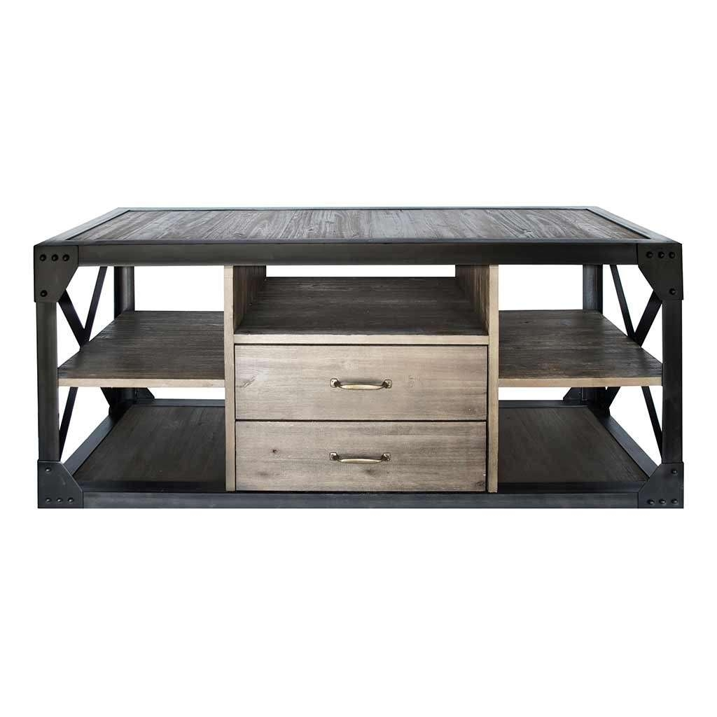 Dutch Industrial Tv Stand – Entertainment Centers – Living Room With Regard To Industrial Tv Stands (View 10 of 15)