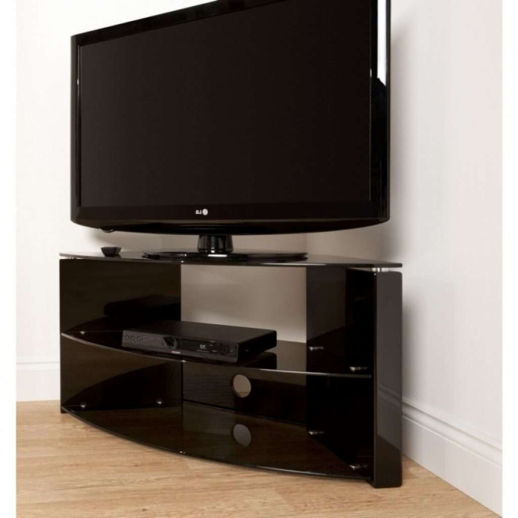 Featured Photo of Glass Corner Tv Stands For Flat Screen Tvs