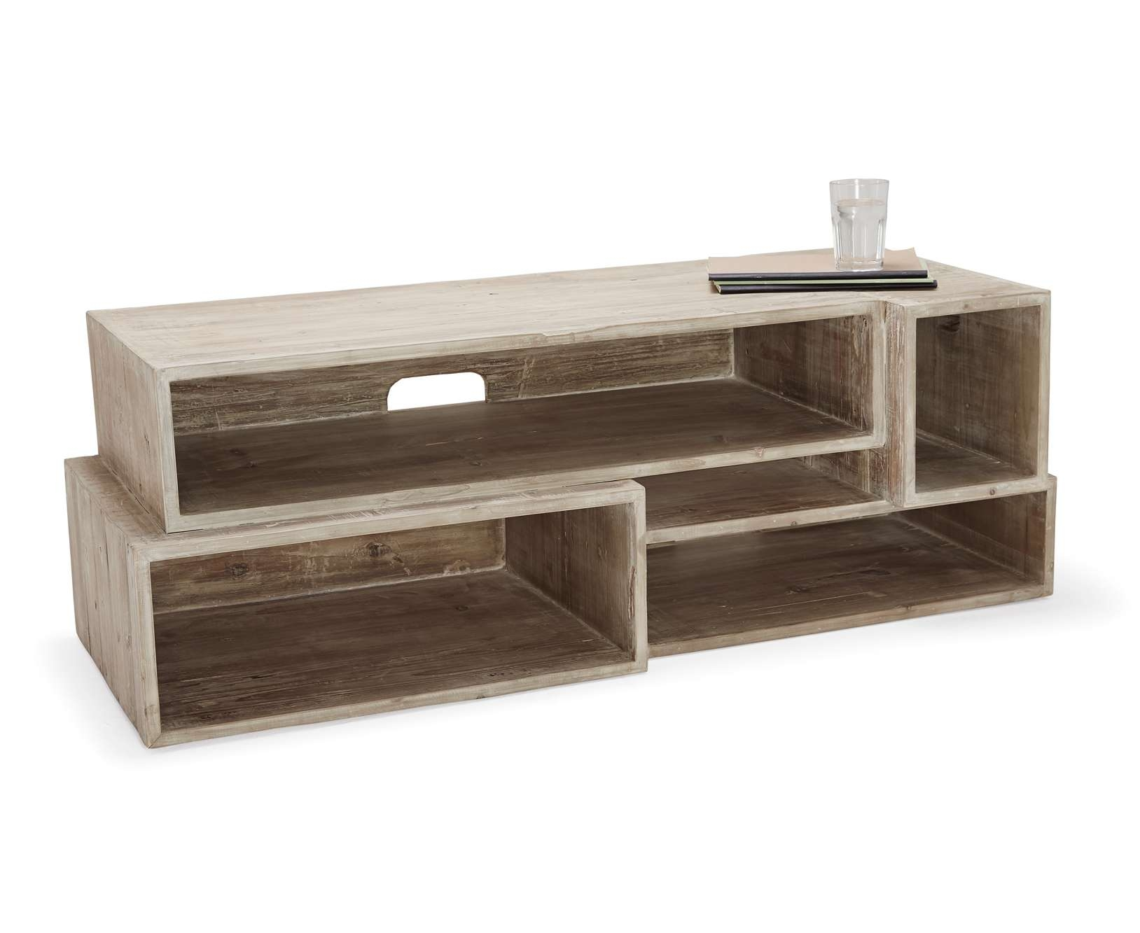 Enchanting Solid Wood Tv Stand Home Media Ideas Tv Stand Real Wood In Wooden Tv Stands (View 5 of 15)