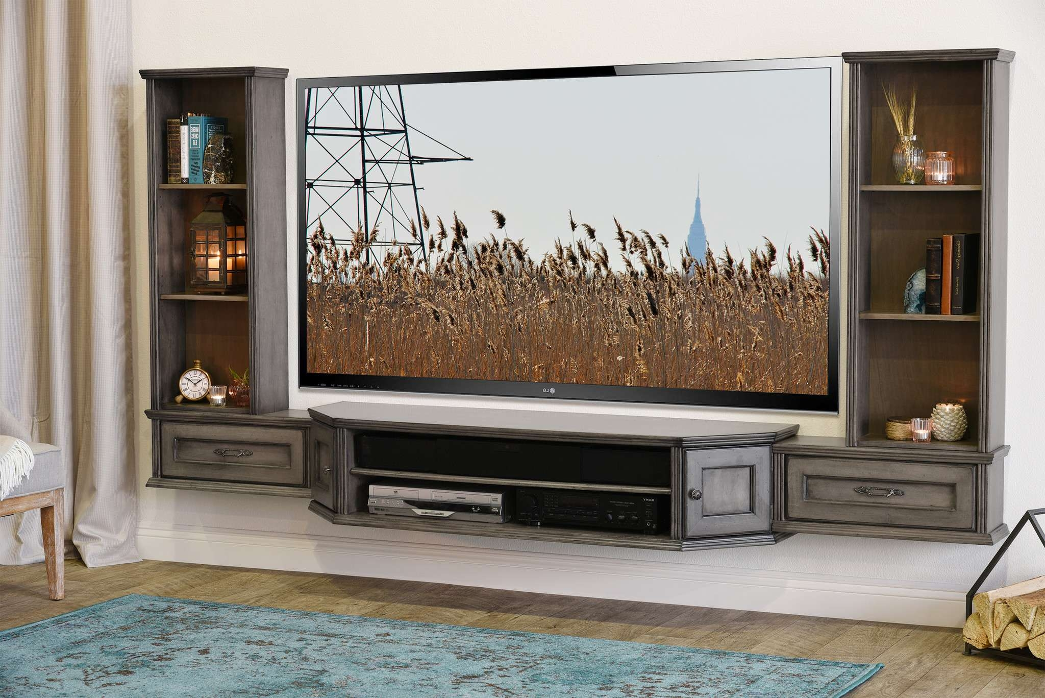 Endearing Liberty Furniture New Generation Mountable Flat Panel Inside Entertainment Center Tv Stands (View 4 of 15)
