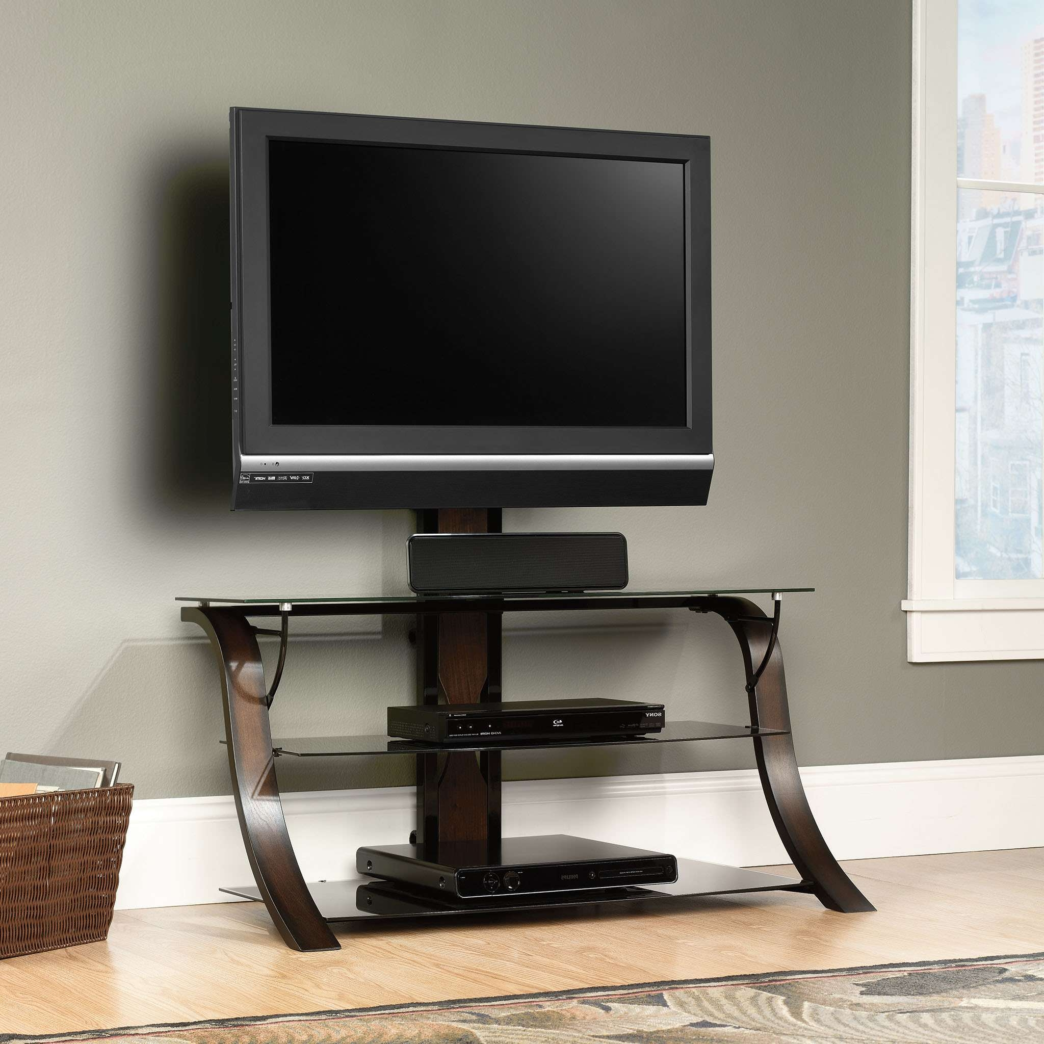 Endearing Tv Stands And Plant Curtain Together With 55 Inch Flat Pertaining To Dvd Tv Stands (View 2 of 20)