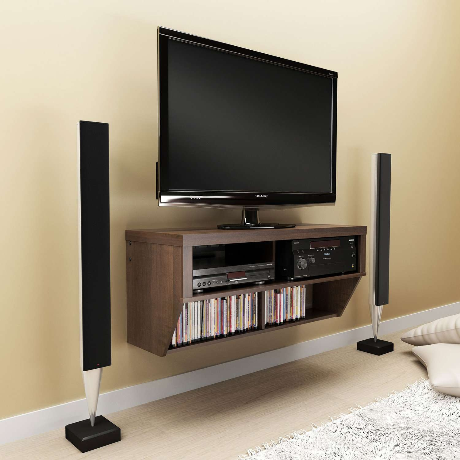 Engrossing Wooden Lcd Tv Cabinet Designs Tags : Led Tv Cabinets With 24 Inch Led Tv Stands (View 5 of 15)