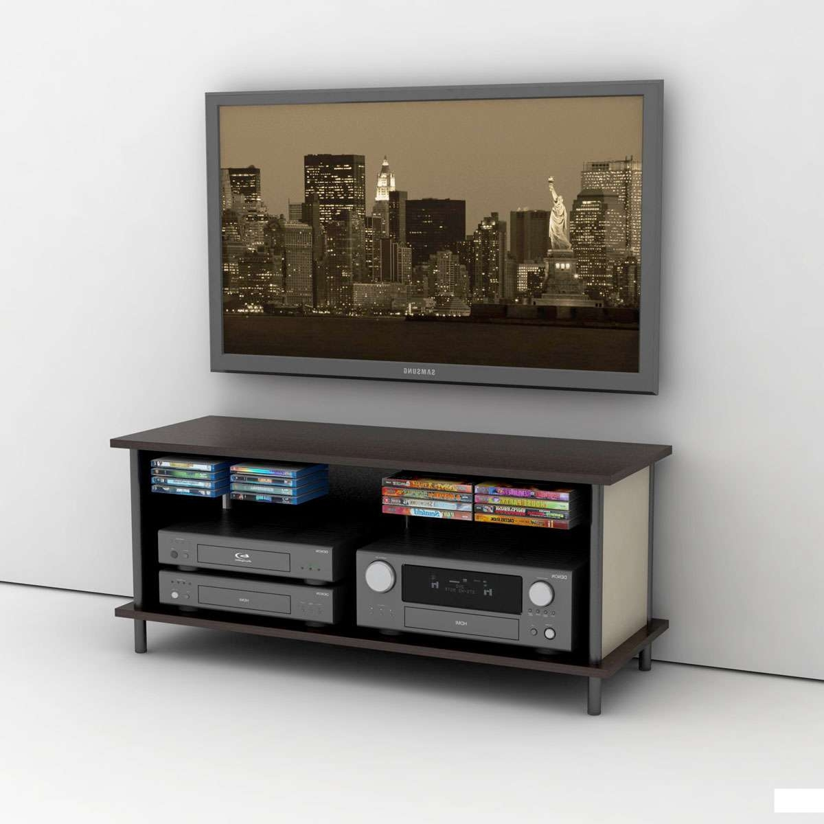 Epic 3 In 1 Tv Stand And Mount Intended For Tv Stands With Mount (View 7 of 15)