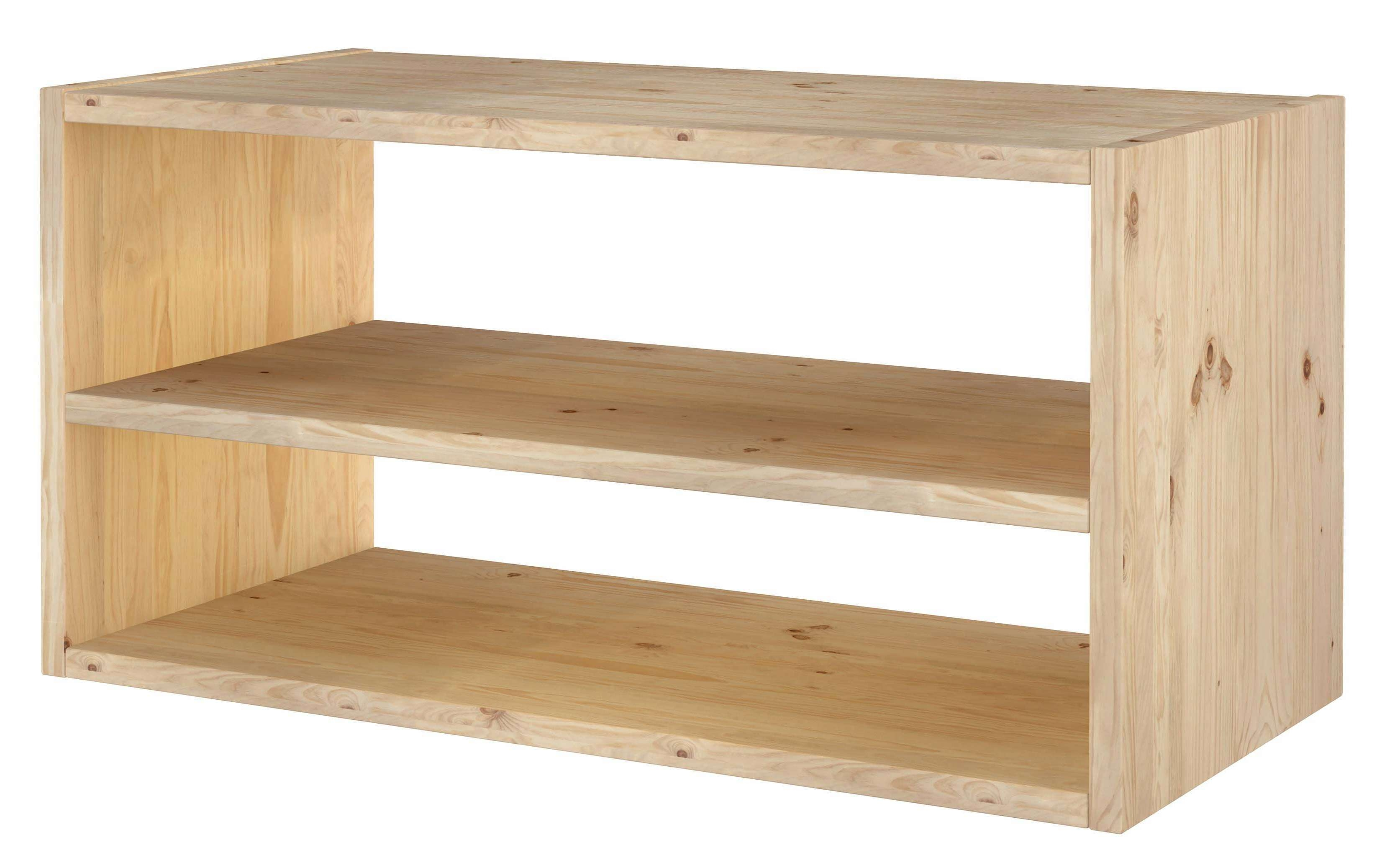 Europe & Nature : Shelf In Massive Wood Pine – Dinamic 2X1 – Tv Stand For Pine Tv Stands (View 1 of 20)