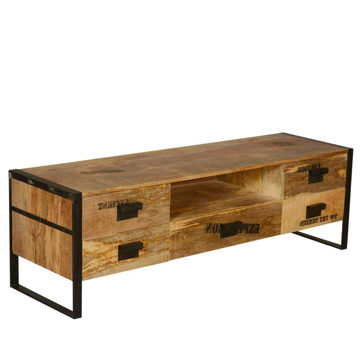 Featured Photo of Mango Wood Tv Cabinets