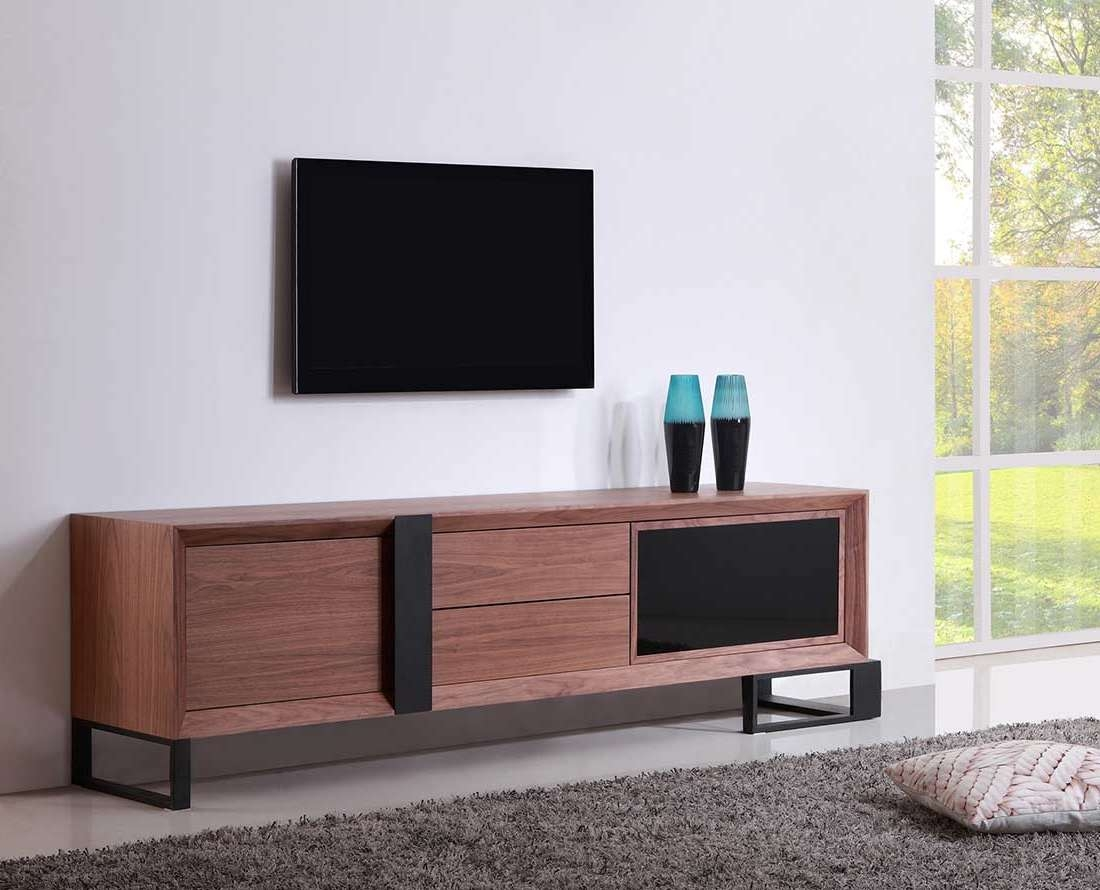 Extra Long Modern Tv Stand Bm 36 | Tv Stands Inside Long Black Tv Stands (View 4 of 15)