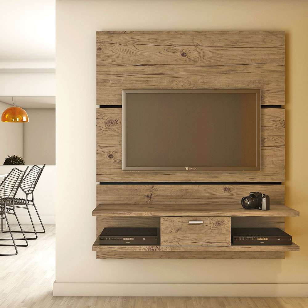 Fanciful Tv Entertainment Center In Along With Manhattan Comfort With Regard To Single Shelf Tv Stands (View 5 of 20)