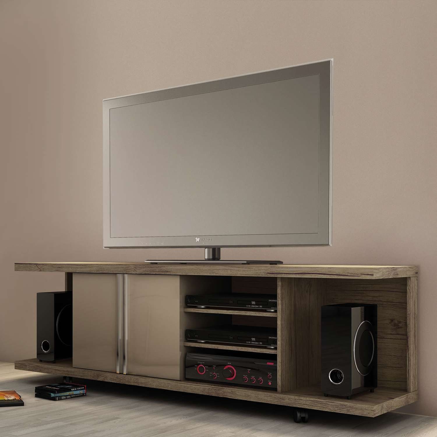 Fancy All Tv Stands Wayfair Toger Together With Maroneia Stand With Regard To Fancy Tv Stands (View 13 of 15)