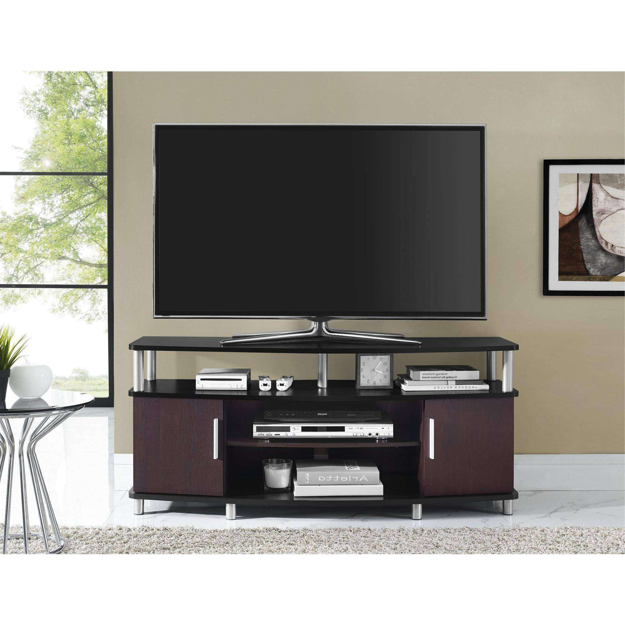 Fancy Carson Tv Stand For Tvs Up To 50 Multiple Finishes 34 In Regarding Fancy Tv Stands (View 12 of 15)