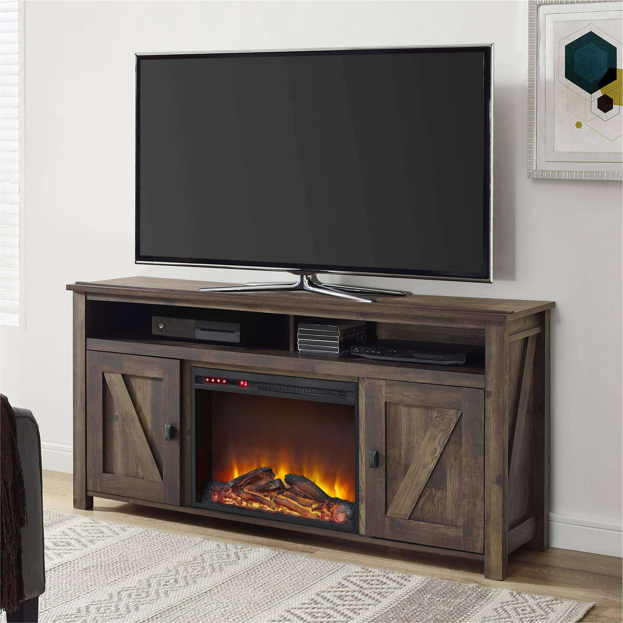 Farmington Electric Fireplace Tv Console For Tvs, Multiple Colors Regarding 50 Inch Fireplace Tv Stands (View 4 of 15)