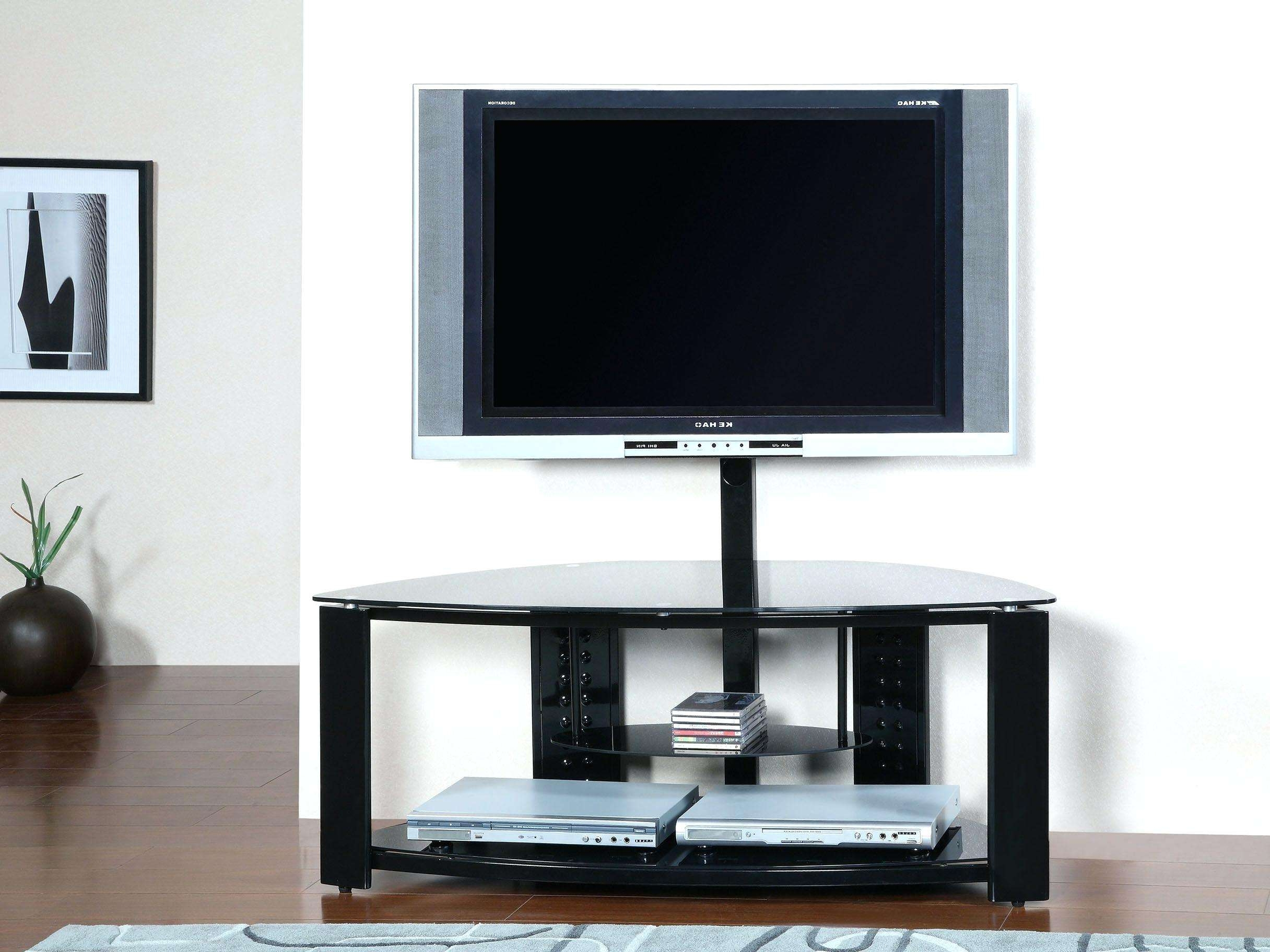 Fascinating Modern Corner Tv Stand Ideas White Gallery Picture With Corner Tv Stands For Flat Screen (View 10 of 15)