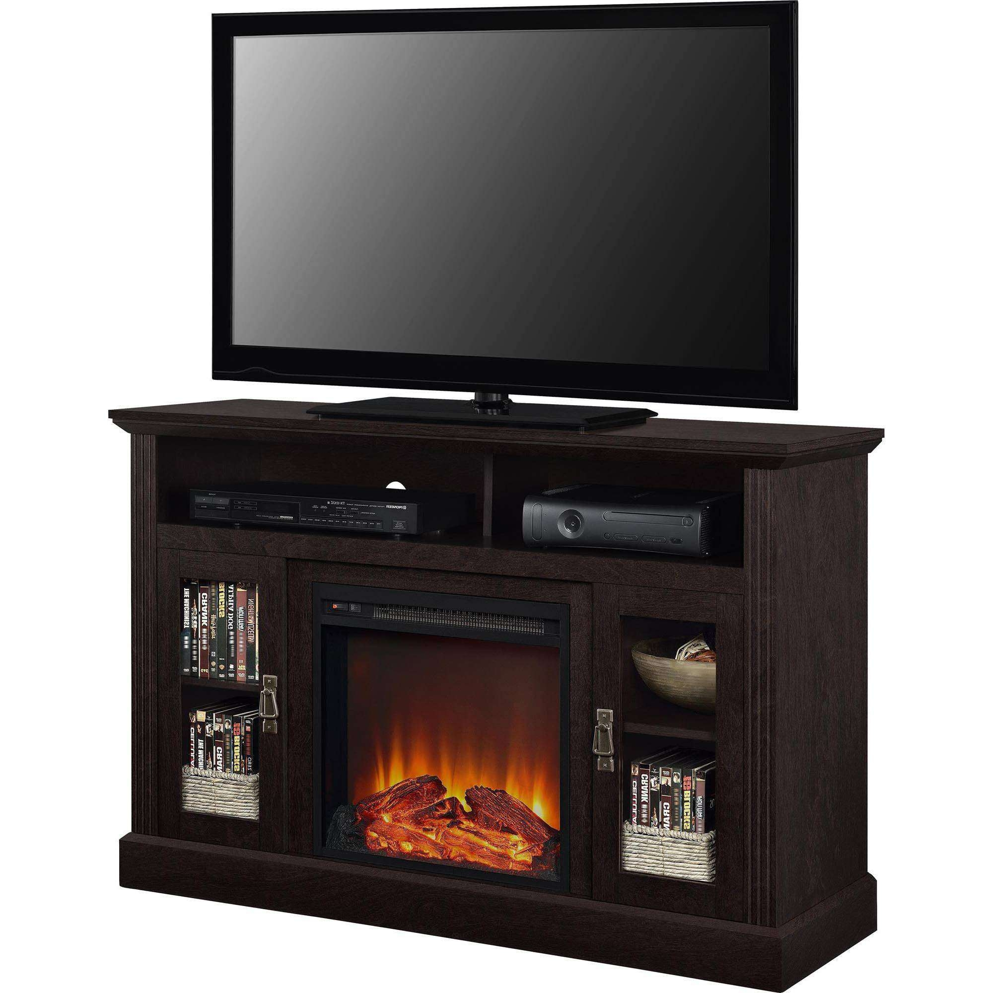 Fireplace Tv Stands – Walmart For 50 Inch Fireplace Tv Stands (View 7 of 15)