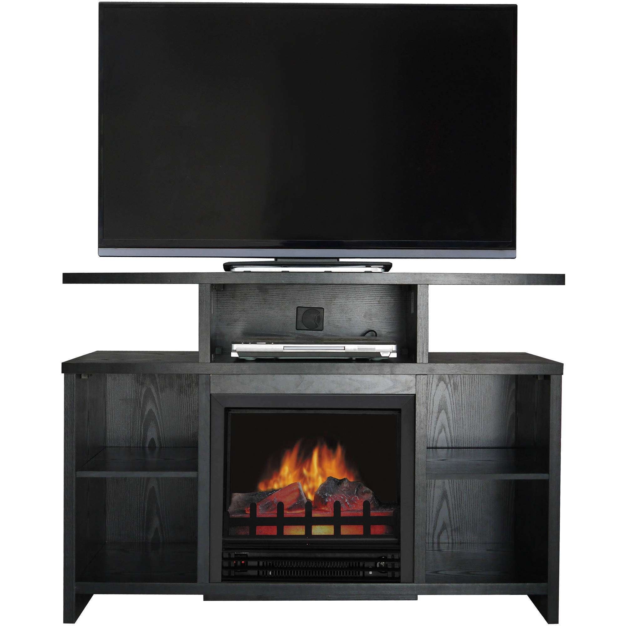 Fireplace Tv Stands – Walmart Within 50 Inch Fireplace Tv Stands (View 9 of 15)