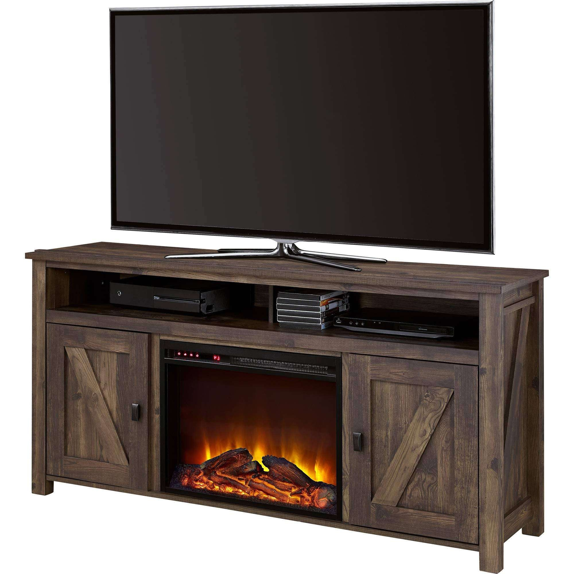 Fireplace Tv Stands – Walmart Within 50 Inch Fireplace Tv Stands (View 8 of 15)