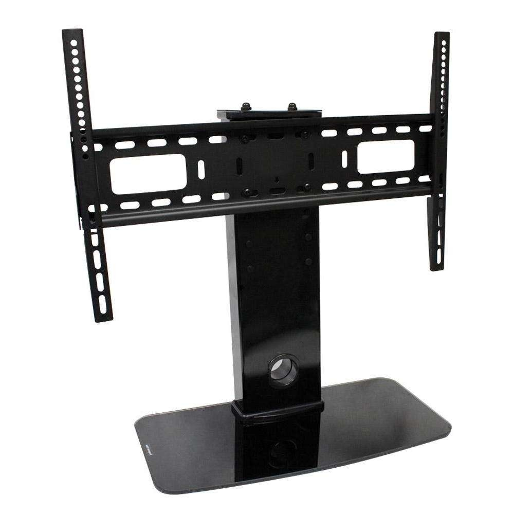 Flat Screen Tv Stands With Mount Universal Table Top Stand For Within Tabletop Tv Stands (View 5 of 15)