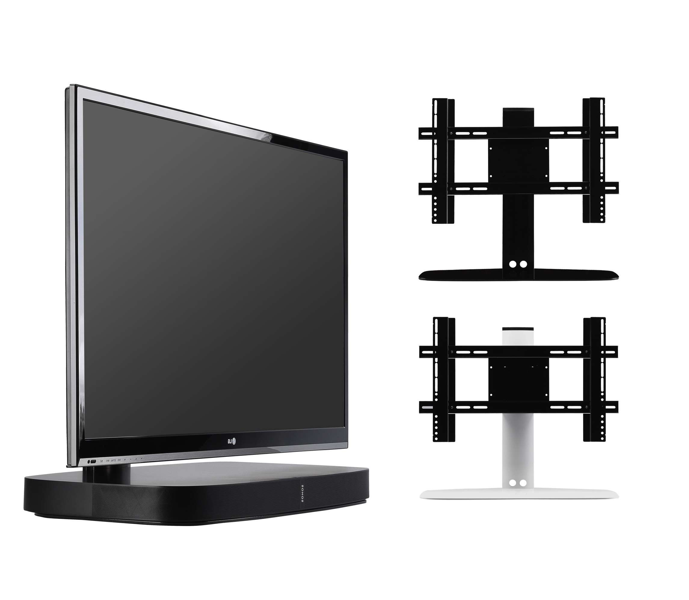 Flexson Flxpbtvst1021 Adjustable Tv Stand For Sonos Playbase Intended For Sonos Tv Stands (View 6 of 15)