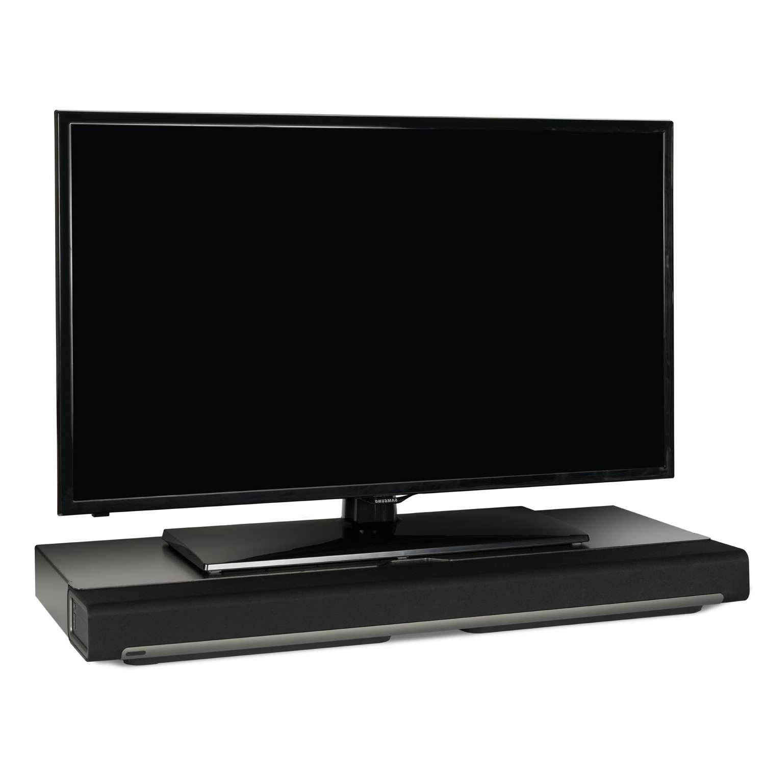 Flexson Tv Stand For Sonos Playbar – Black (Single) – Sonos Intended For Sonos Tv Stands (View 8 of 15)