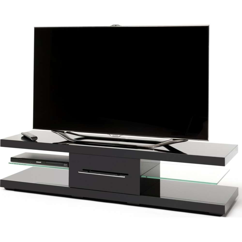 Floating Look Cantilever Shelves; Screens Up To 75 Within Techlink Echo Ec130Tvb Tv Stands (View 11 of 20)