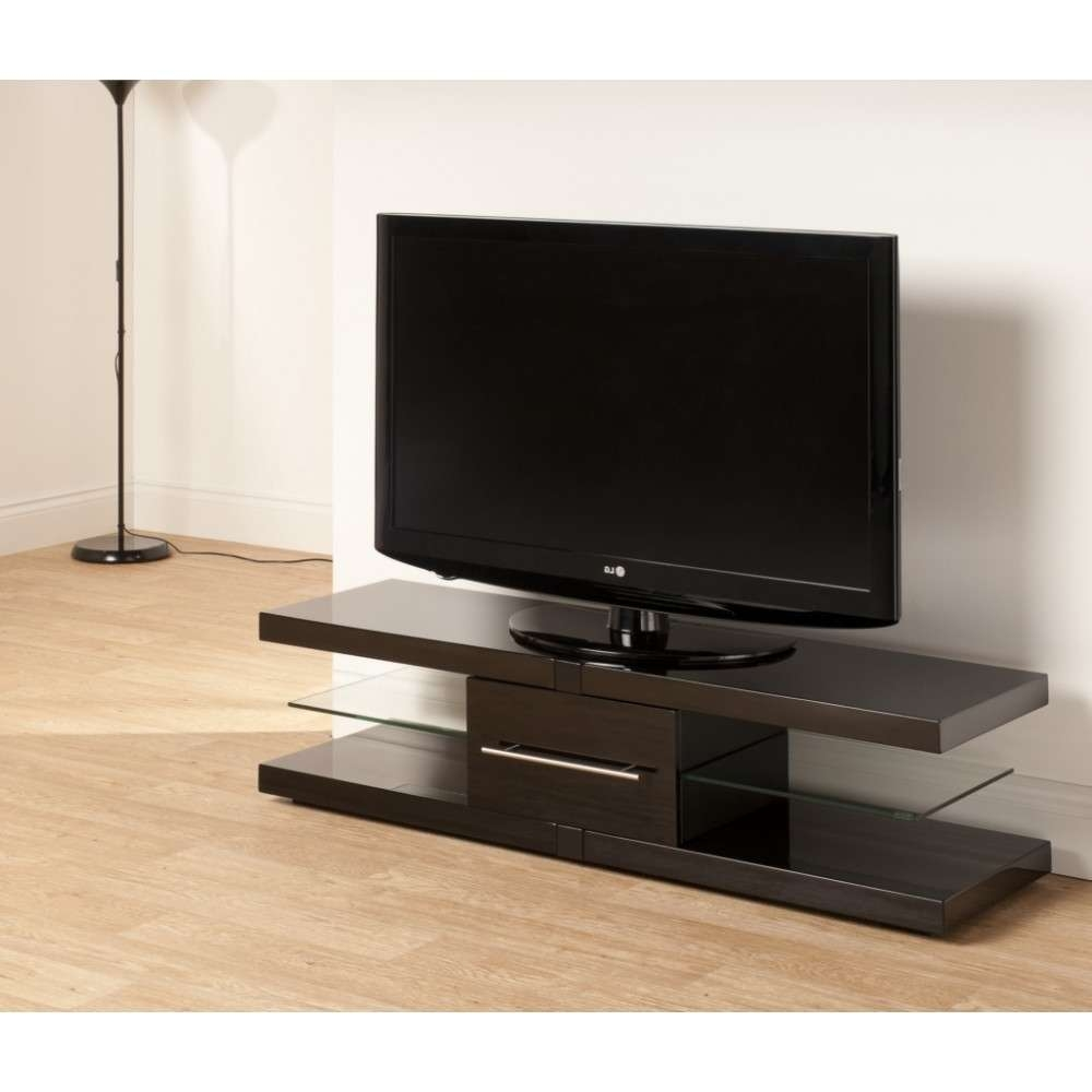 Floating Look Cantilever Shelves; Storage For 4 Pieces Of A/v Regarding Techlink Echo Ec130Tvb Tv Stands (View 12 of 20)