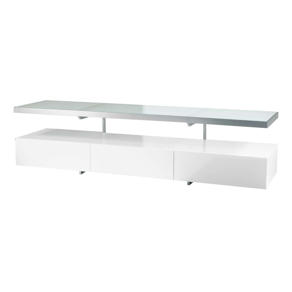 Floating Shelf Tv Unit White – Dwell Throughout Dwell Tv Stands (View 3 of 15)